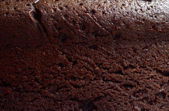 Chocolate cake texture Royalty Free Stock Image