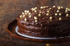 Chocolate Cake Three Layers Royalty Free Stock Image
