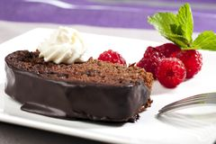 Chocolate Cake VI Royalty Free Stock Image