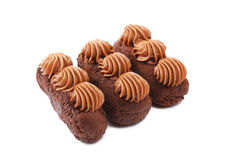 Chocolate cakes Stock Photo