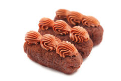 Chocolate cakes Stock Photography