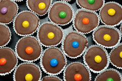 Chocolate cakes Stock Image
