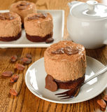 Chocolate cakes Royalty Free Stock Image