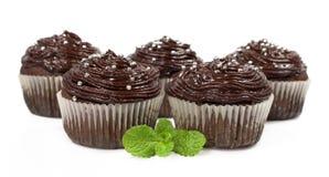 Chocolate cakes Stock Image