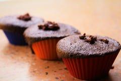 Chocolate cakes Stock Photos