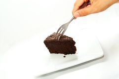Chocolate Cakes Dessert stock image