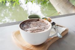 Chocolate caliente Foto de archivo libre de regalías