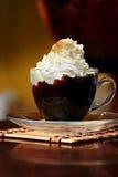 Chocolate caliente imagenes de archivo