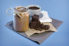 Chocolate caliente Imagen de archivo libre de regalías