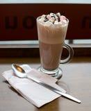 Chocolate caliente de lujo foto de archivo libre de regalías