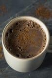 Chocolate caliente mexicano picante del día de fiesta hecho en casa Imagen de archivo