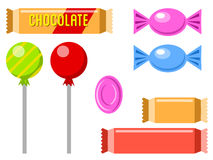 Chocolate and candies 1 Royalty Free Stock Photography