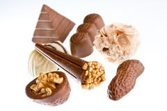 Chocolate candies Stock Image