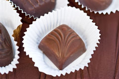 Chocolate candies Stock Image
