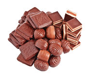 Chocolate candies. Stock Photography