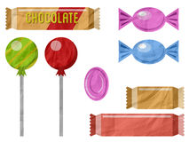 Chocolate and candies 2 Royalty Free Stock Image