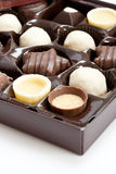 Chocolate candies Royalty Free Stock Photos