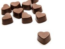 Chocolate candies stock photo