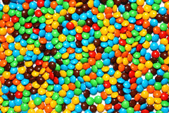 Chocolate candies background Stock Photography