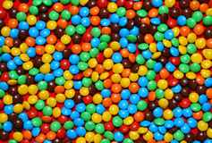 Chocolate candies background Stock Images
