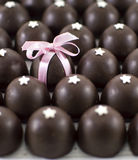 Chocolate candies background Royalty Free Stock Image