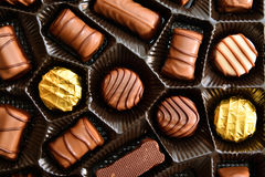 Chocolate candies Stock Photos