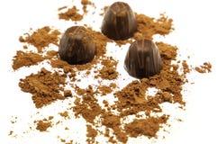 Chocolate candies Stock Photos