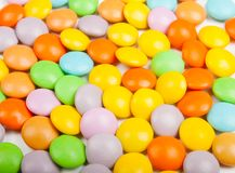 Chocolate candies frame Royalty Free Stock Photo