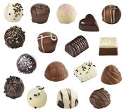 Chocolate Candies Royalty Free Stock Images
