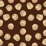 Chocolate candies. White chocolate. Stock Images