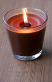 Chocolate Candle Royalty Free Stock Photos