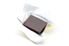 Chocolate Candy. A photo of some chocolate candy over a white background Royalty Free Stock Images