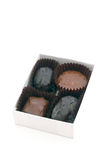 Chocolate Candy 3. Small box of chocolate candies royalty free stock images