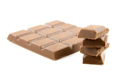 Chocolate candy bar Stock Image
