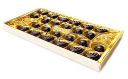 Chocolate candy box Stock Photo