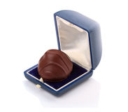 Chocolate candy in a box Stock Image