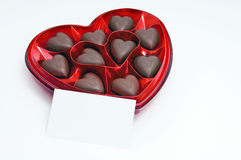 Chocolate candy box Royalty Free Stock Photography