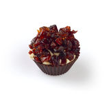 Chocolate candy with cheese and cranberry Stock Photography