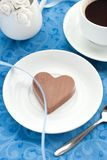 Chocolate candy and a coffee Royalty Free Stock Photo