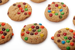 Chocolate Candy Cookies Stock Images