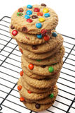 Chocolate Candy Cookies Stock Image