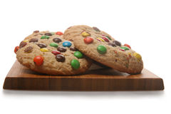 Chocolate Candy Cookies Stock Photography