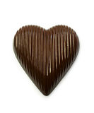 Chocolate candy in a heart shape Royalty Free Stock Photo