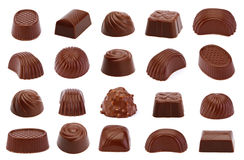 Chocolate candy isolated Stock Image