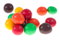 Chocolate candy isolated Stock Photos