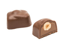 Chocolate candy isolated Royalty Free Stock Photo