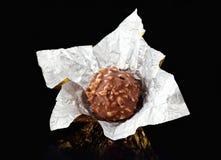 Chocolate candy macro Stock Photo