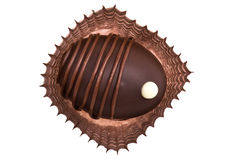 Chocolate candy macro Stock Photography