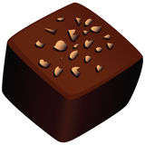 Chocolate candy vector illustration