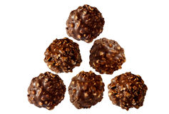 Chocolate candy with nuts Royalty Free Stock Photography